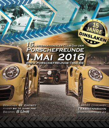 15. Int. Club Day der Porschefreunde - Dinslaken