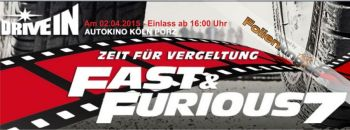 FAST & FURIOUS 7 Premierenparty