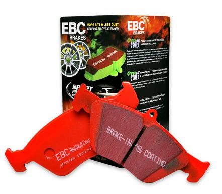 EBC BRAKES Bremsbelag Bremsklotz Semi-Sinter V FA363V